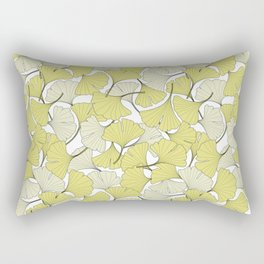 ginkgo leaves (special edition) Rectangular Pillow