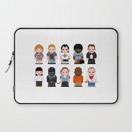 Pixel Pulp Fiction Characters Laptop Sleeve
