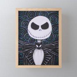 Jack Skellington Framed Mini Art Print