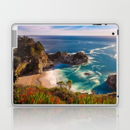 McWay Cove Spring Bloom, Big Sur Laptop & iPad Skin