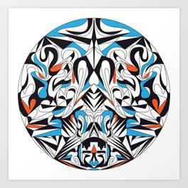 High Above Art Print