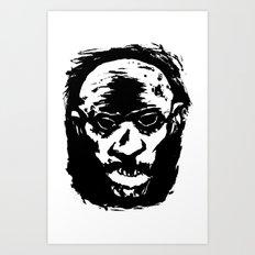Brainsss! Art Print