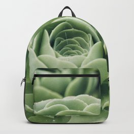 Green Succulent Photo Backpack