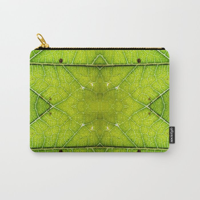 Macro Leaf no 9 Carry-All Pouch