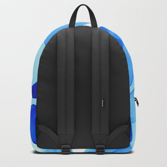 Beach Glass Blue Backpack