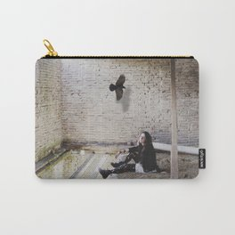 Raven Queen Carry-All Pouch