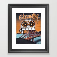 SF Gigantes by Adam Valentino  Framed Art Print