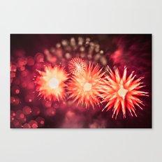 Fireworks - Philippines 12 Canvas Print