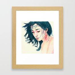 East Wind Girl Framed Art Print