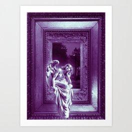 Angel of Bristol (Purple) Art Print
