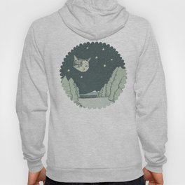 Cat Moon Hoody