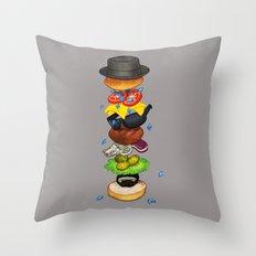 Heisenberger Throw Pillow