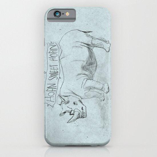 HORN SWEET HORN iPhone & iPod Case