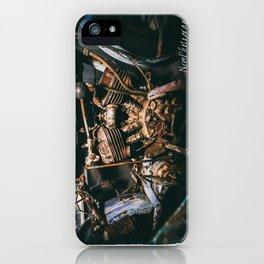 Vintage Indian Motorcycle iPhone Case