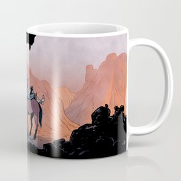 Reading Cowboy Coffee Mug