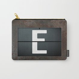 monogram schedule e Carry-All Pouch