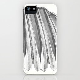 The Zoology of the Voyage of H.M.S. Beagle 1840 - Fossil Mammalia - Megatherium Teeth iPhone Case