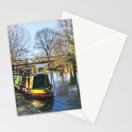 Winter On The Kennet Stationery Cards