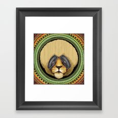 Ital Lion Framed Art Print