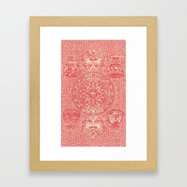 Forty-three Framed Art Print