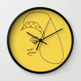 Eartha Kitt Wall Clock
