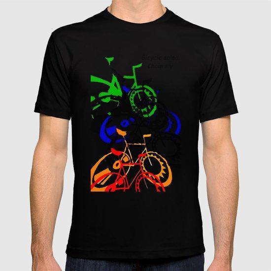 BICYCLE SALAD. T-shirt
