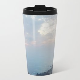 Blue Sunset over the Pacific Travel Mug