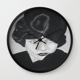 Silent Glamour Wall Clock