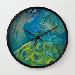 The Peacock Wall Clock