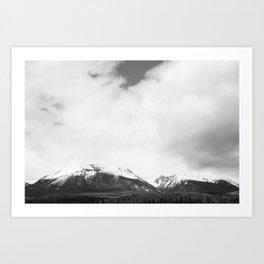 Mountains 01 Art Print
