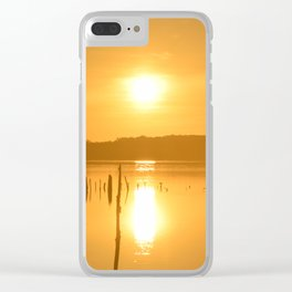 Morning Fall Clear iPhone Case