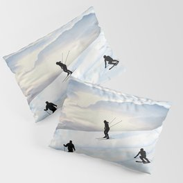 Skiing in Infinity Pillow Sham
