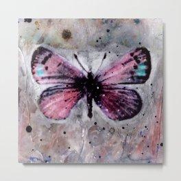 Butterfly Prayers No. 1B by Kathy Morton Stanion Metal Print