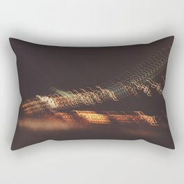 Bay Bridge California Night Rectangular Pillow