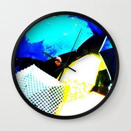 The Ubrellas Of Venice Wall Clock