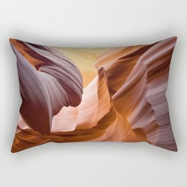 Antelope Canyon, United States Rectangular Pillow