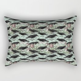 Crow's Vintage Garden Rectangular Pillow