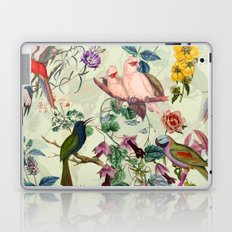 Floral and Birds VIII Laptop & iPad Skin
