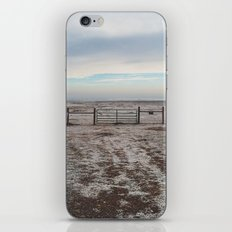 Snowy Gate iPhone & iPod Skin