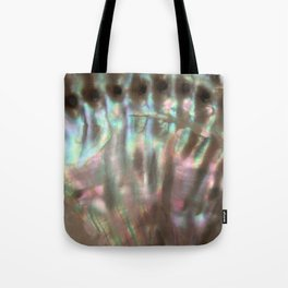 Shimmery Greenish Pink Abalone Mother of Pearl Tote Bag
