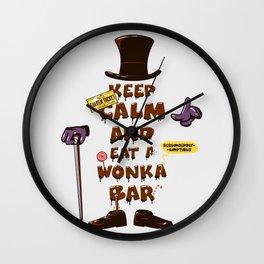 Wonka Bar Wall Clock