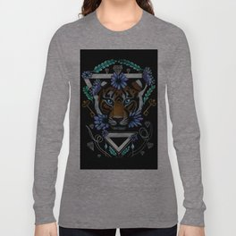 Powerful Tiger  Long Sleeve T-shirt