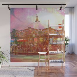 Merry Go Round Wall Mural