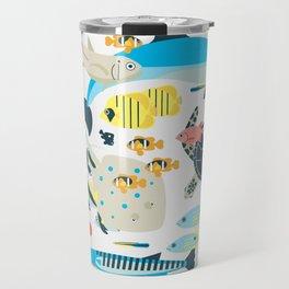 Coral reef animals Travel Mug
