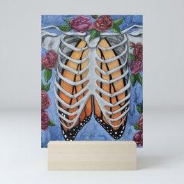 Monarch Lungs Mini Art Print