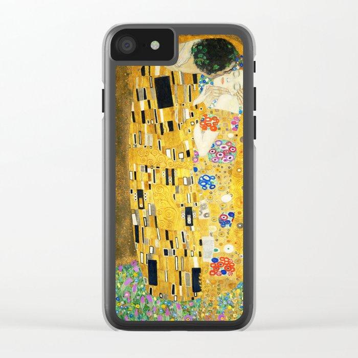 Gustav Klimt The Kiss Clear iPhone Case