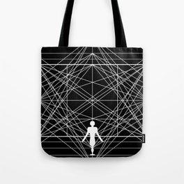 Man in Space Tote Bag