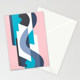 SUISSE - Art Deco Modern: MIAMI DECO Stationery Cards