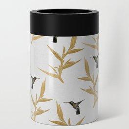 Hummingbird & Flower II Can Cooler