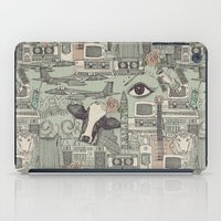 airplanes iPad Cases featuring Dolly et al by Sharon Turner